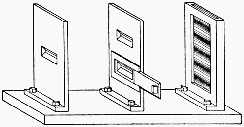 A double-slit apparatus