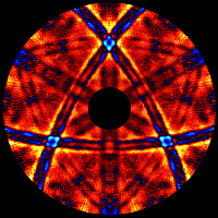 X-ray tomographic imaging of atoms