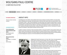 Wolfgang Pauli Centre for Theoretical Physics